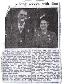 Article from the County Express in 1956 - select the image to see a larger view